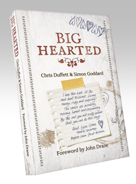 Big Hearted, book cover design
