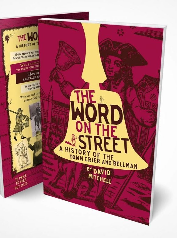 The word on the street, book cover design