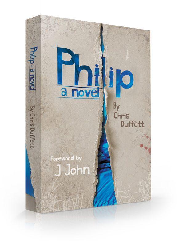 Philip, a novel, book cover design
