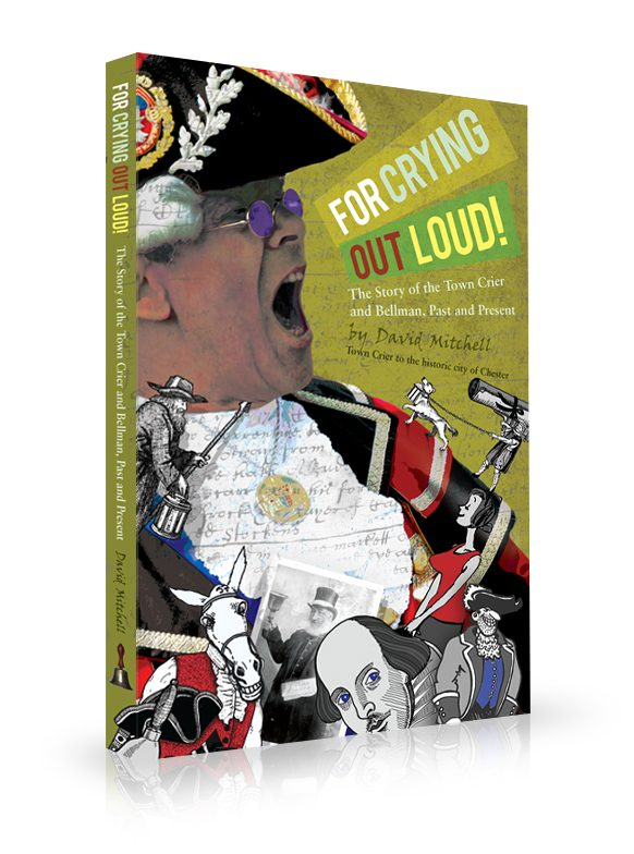 crying out load, book cover design
